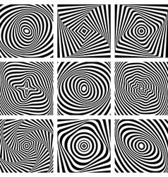 Backgrounds set vector