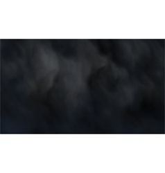 Dark smoke vector