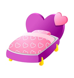 Icon bed vector