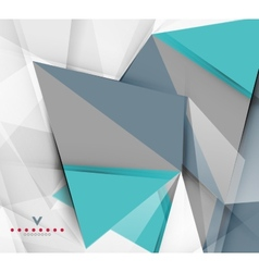 Triangular modern abstract background vector