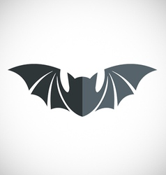 Bat icon logo vector