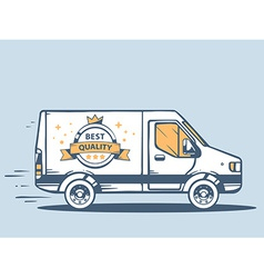 Van free and fast delivering best quality vector