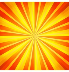 Abstract orange and yellow line background vector