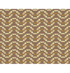 Seamless pattern with boomerangs vector