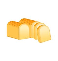 Icon bread vector