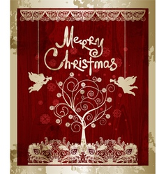 Marry christmas vector