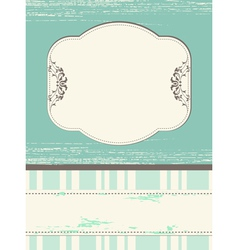 Scrap template design with blank space vector
