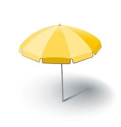 Beach sunshade vector