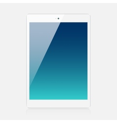 White tablet vector