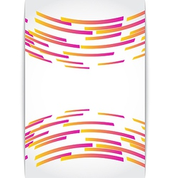 Abstract background card vector