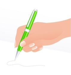 Writing vector