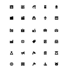 Mini icons 26 vector