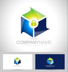 Secure security design vector