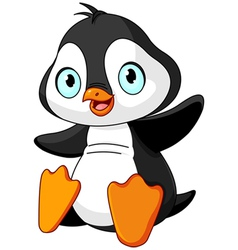 Baby penguin vector