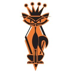 King cat vector
