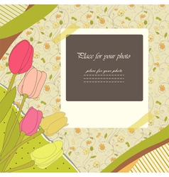 Scrapbooking album vector