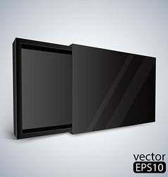 Opened black box vector