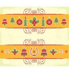 Christmas decor elements for designnew year image vector