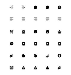 Mini icons 29 vector