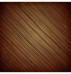 Wooden plank dark background vector