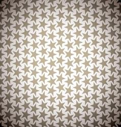 Brown star background vector