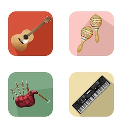 Music and party icons 5 vector
