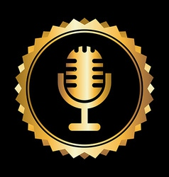Microphone design vector