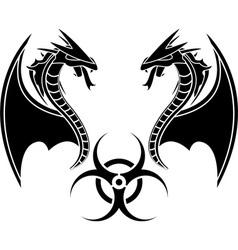 Biohazard reptiles vector