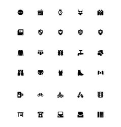 Mini icons 33 vector