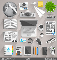 Business style vector