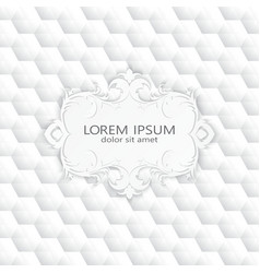 Modern abstract template upholstery background vector
