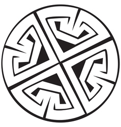 Celtic crosses vector