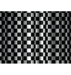 Checkered curtain vector