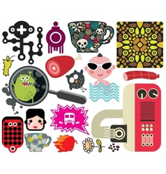 Mix of different images vol59 vector