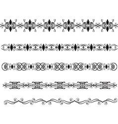 Abstract border vector