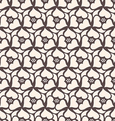Floral seamless pattern background retro style vector
