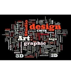 Graphic design studio vector
