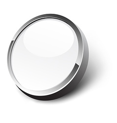 White button vector