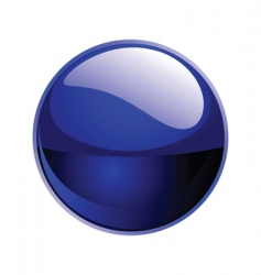 Shiny sphere vector