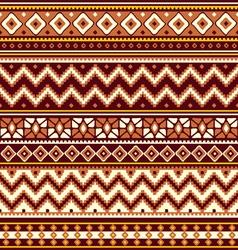 Folk geometric ornament vector