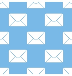 Mail seamless pattern vector