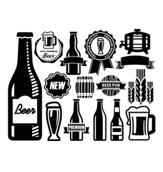 Beer icon vector