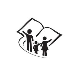 Family album sign vector