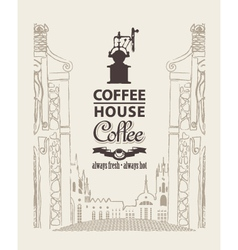 Coffee house vector