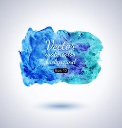 Watercolor splash vector