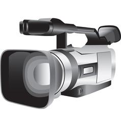 3d of a semi-professional video camera vector