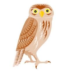 Owl retro vector