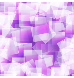 Abstract square seamless purple background vector