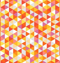 Abstract background of color triangles vector