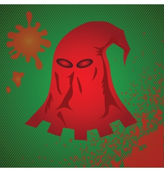 Red mask vector